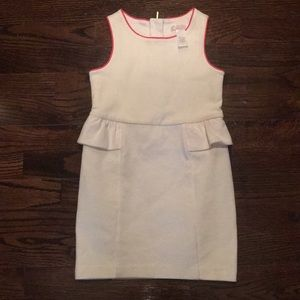 Girls peplum Janie and Jack dress